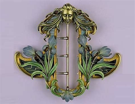 Rene Lalique Art Nouveau jewellery   Kaleidoscope effect