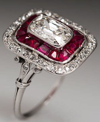 second deco rings deco ring cushion cut diamonds and cushion cut on