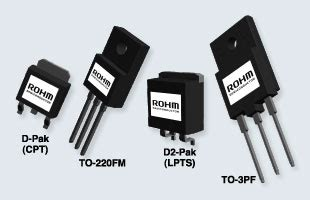resistor package types high speed switching high voltage resistance mosfet series rohm semiconductor rohm co ltd