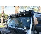 Delta Bullet SkyBar W/ 4 Lights For Jeep JK &amp TJ