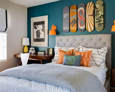 chambres d h es jolivet chambre d enfant mur bleu canard photos et id 233 es d 233 co de