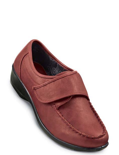 comfort plus shoes comfort plus wide fit touch fasten shoe