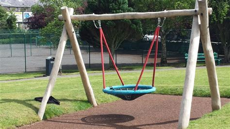 swing equipment playground equipment from creative play solutions basket