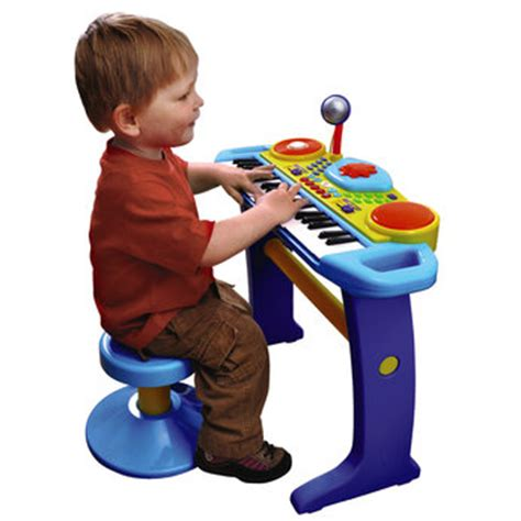Bruin Light Up Keyboard With Stool by Years Bruin Preschool Blue Light Up Keyboard Review