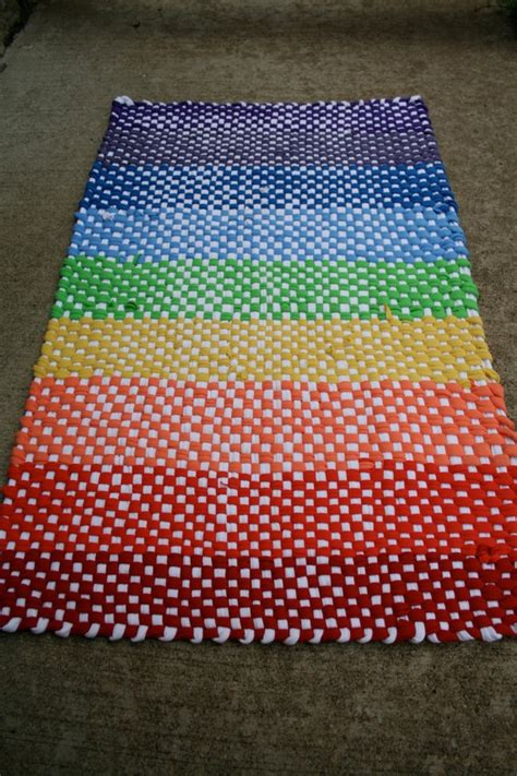 Recycled T Shirt Rug by 17 Best Images About T Shirt Yarn And Scrap Projects On