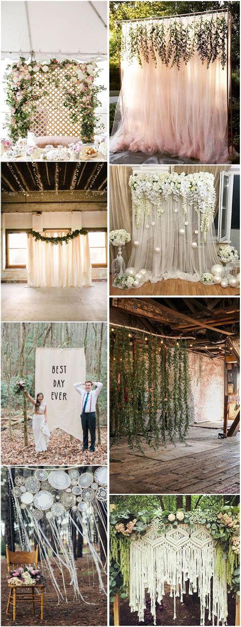 Wedding Backdrops Ideas by 30 Unique And Breathtaking Wedding Backdrop Ideas
