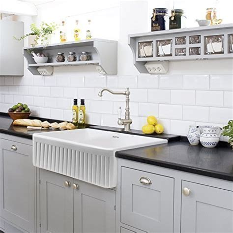 farmhouse kitchen sink white 30 single bowl fireclay apron farmhouse kitchen sink