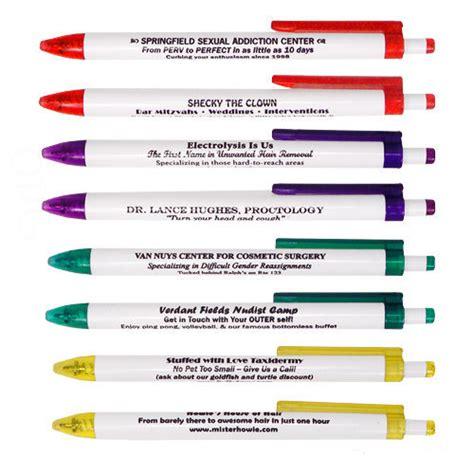 My Pen borrow my pen set stupid