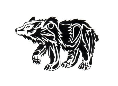 tribal bear tattoo designs tribal pic tattooshunt