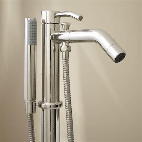 caol freestanding tub faucet  hand shower bathroom