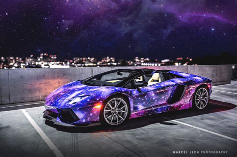 galaxy car canadian lamborghini aventador roadster is wildest yet