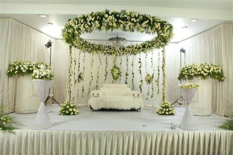 stunning wedding stage decorations  christians
