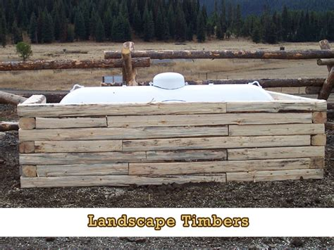 Landscape Timbers Fence Pole Split Rail Fencing And Landscape Timbers