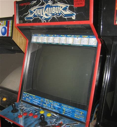 Xbox Arcade Cabinet Soul Calibur Conversion Cabinet Collected In Arcade By