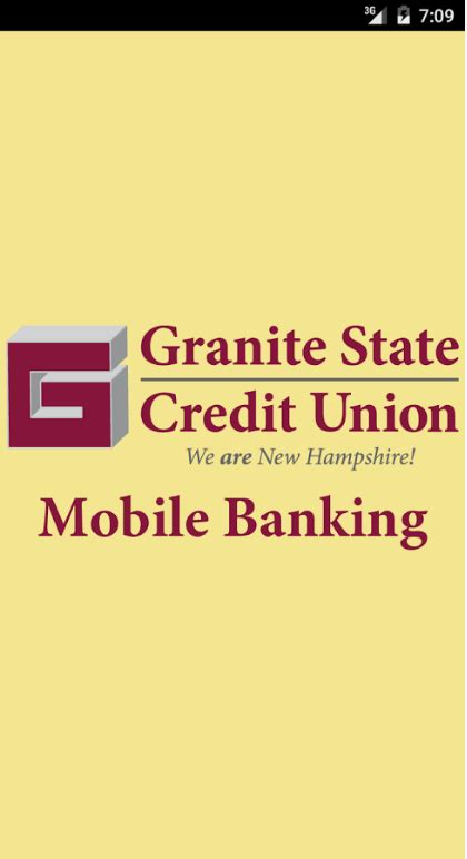 state employees credit union app for android granite state credit union banking login itsbankingonline