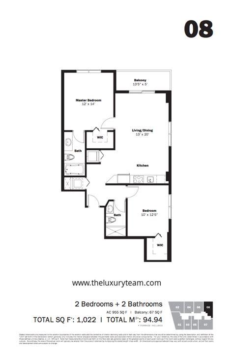 my floor plan my brickell tlt realtors