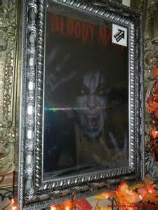 bloody mary mirror halloween prop animated vintage bloody mary scary magic mirror halloween
