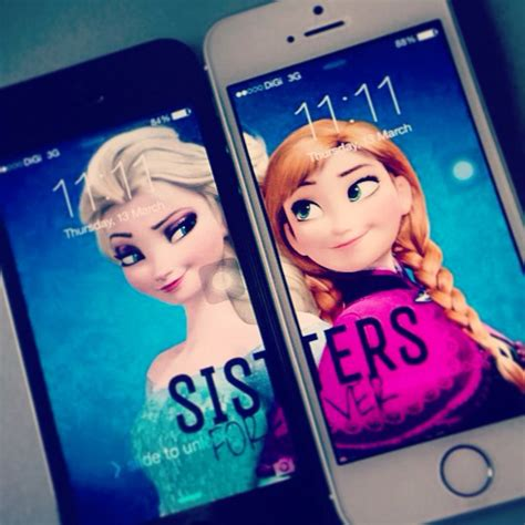 wallpaper frozen sisters gigi we should so get this backgrounds we heart it