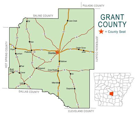 map grant grant county map encyclopedia of arkansas