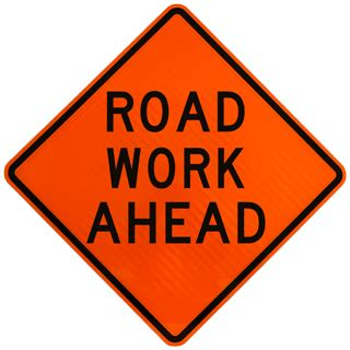 free printable road construction signs temporary warning signs temporary traffic control signs