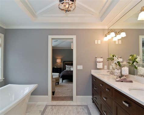 how to paint bathroom cabinets dark brown brown cabinets with grey wall benjamin moore london fog
