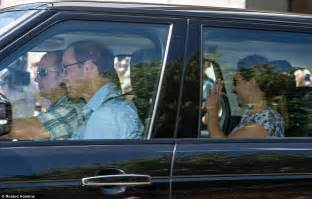 william and kate royal baby kate middleton prince william and son leave kensington palace for bucklebury