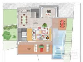 Double Garage Design maison face 224 la mer d 233 tail du plan de maison face 224 la