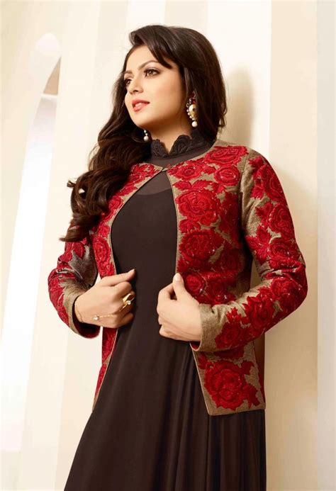 jacket design on kameez punjabi salwar kameez with short jacket 2017 designs images