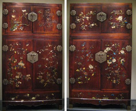 file wooden wardrobe with of pearl glass