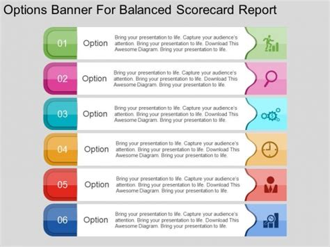 Powerpoint Template Report Image Collections Powerpoint Template And Layout Balanced Scorecard Ppt Template