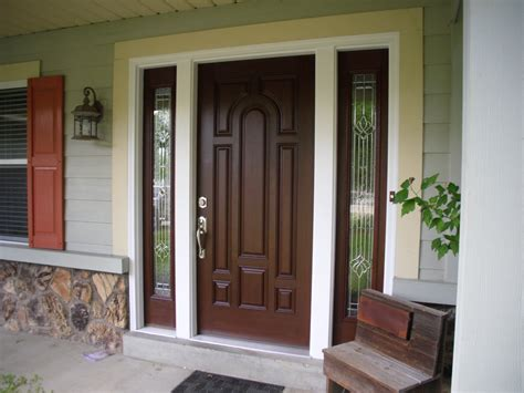 Front Door And Sidelights Contemporary Front Door With Sidelights Adjust Therma Tru Front Door With Sidelights