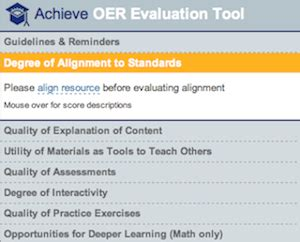 Online Evaluation Tool - achieve oer online evaluation tool institute for the