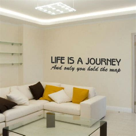 inspiring bathroom quote decal design peach basket and beadboard floor an www aofwe com life is a journey motivational quote inspirational