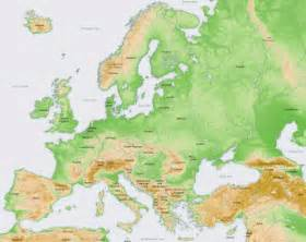 map of mountains maps map of europe mountain ranges