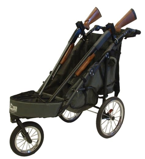 rugged gear cart 2 gun shooting cart combo package