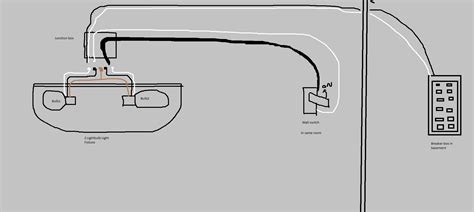 garage lights electrical wiring diagram 2000 hyundai