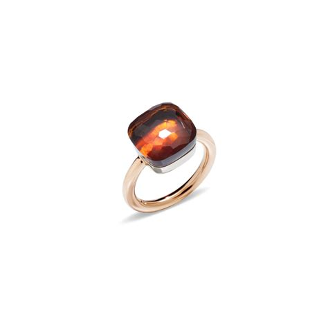 pomellato rings pomellato ring nudo in orange lyst
