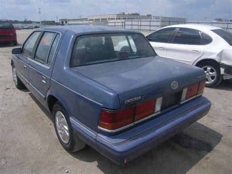 dodge spirit 1992 1992 dodge spirit blue 3 0l 6 blue