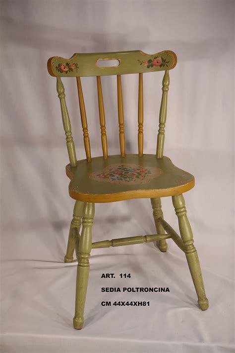 sedie decorate sedia poltroncina decorata