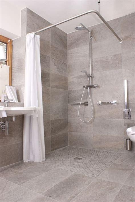 Badezimmerdusche Design by Badezimmer Ebenerdige Dusche Wohnen Grau