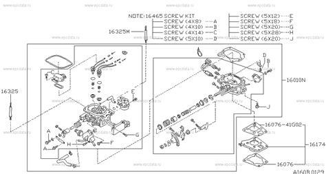 Nissan Terrano Kit Carburator 160 carburetor на terrano wd21 nissan terrano автозапчасти