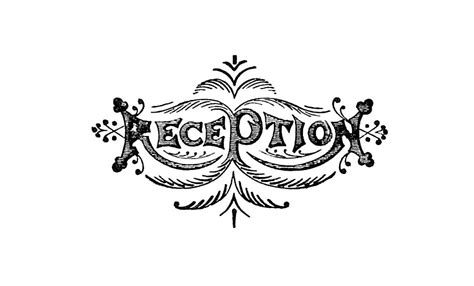 Wedding Reception Clipart by Antique Images Free Antique Graphic Wedding Clip