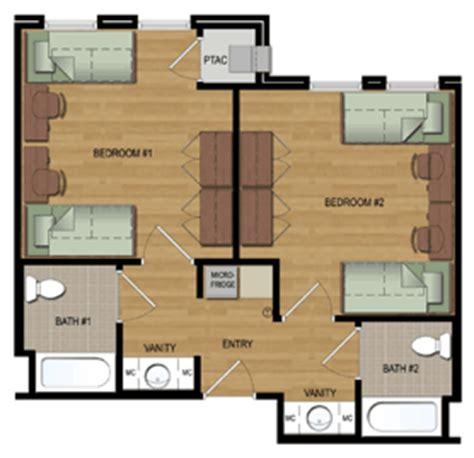 ull housing co ed residence halls office of university housing