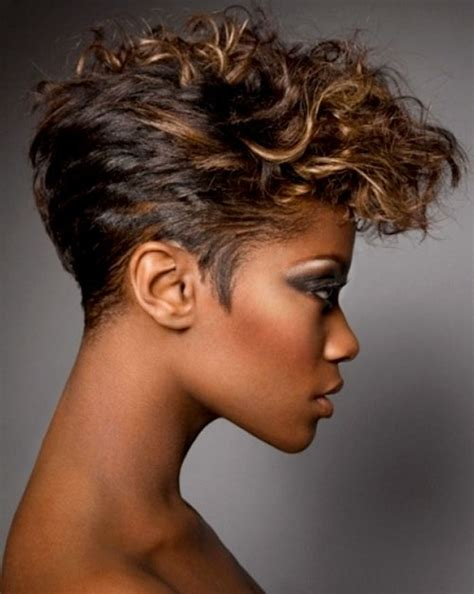 hairstyles for women over 50 that are black the makeupc and hairstyles elegant short curly hairstyles