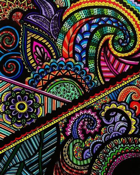 colorful henna colorful henna drawings on paper search tattoos