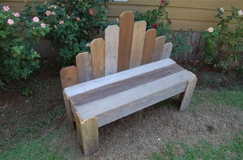 popsicle stick bench rustic wooden bench i m going to recreate this in a