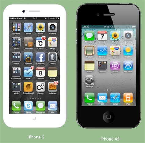 iphone 4 screen size iphone 5 business insider