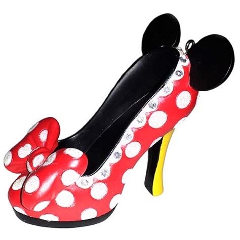 minnie mouse shoe slippers your wdw store disney shoe ornament minnie mouse