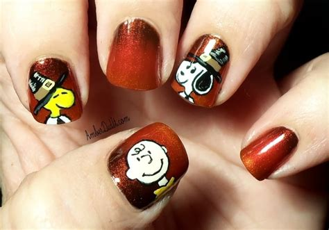 can turkeys see color 21 thanksgiving nail designs you should definitely see