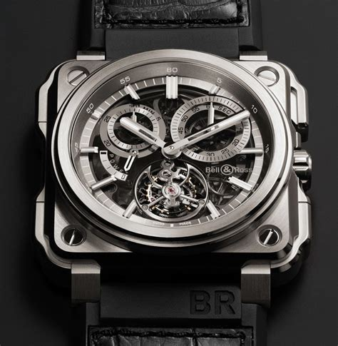 U Boat Turbilon Orange chronograph tourbillon bell ross br x1 luxury